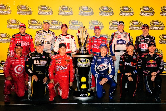 The field for the 2009 Chase for the Sprint Cup Championship has been set.  (Photo by Rusty Jarrett/Getty Images for NASCAR)