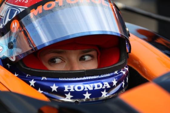 Danica Patrick will reportedly to the right thing – remain in IndyCar. (Photo courtesy of the Indy Racing League)