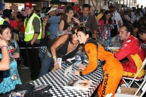 Danica Patrick could pose a problem for stock-car drivers. (Photo courtesy the Indy Racing League)
