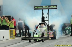 Doug Herbert is an emotional favorite this weekend in the Carolina Nationals at ZMax Dragway. (Photo by John Richards/CompetitionPlus.com)