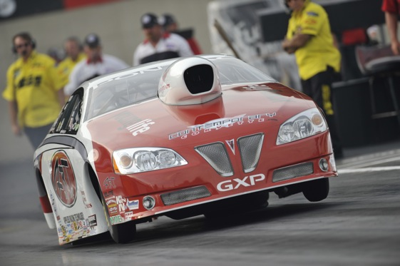 Mike Edwards went on a demon-killing mission last weekend. (Photo courtesy of the NHRA)