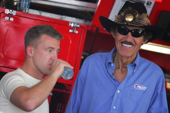 Richard Petty is quickly becoming a king when it comes to owning mega teams in NASCAR. (Photo by Todd Warshaw/Getty Images)