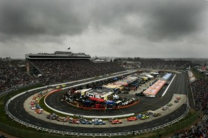 Martinsville can be an ominous place. It could be even more so this afternoon.  (Photo by Chris McGrath/Getty Images)