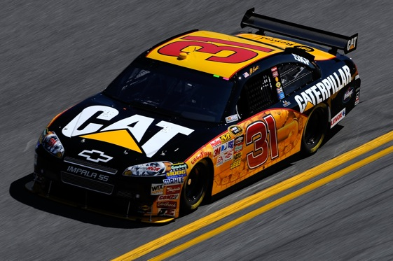 Jeff Burton is in an unfamiliar position as the Chase rages on. (Photo by Sam Greenwood/Getty Images for NASCAR)