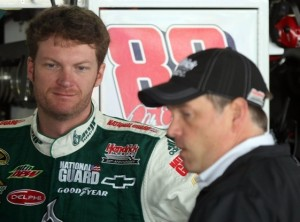 Dale Earnhardt Jr. and the rest of the drivers who are not among the Chasers still have plenty to race and race hard, for. (Photo by Nick Laham/Getty Images)