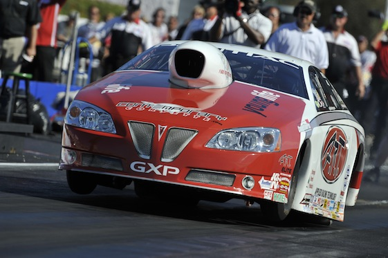 Mike Edwards was unstoppable in Virginia on Sunday. (Photo courtesy of the NHRA)