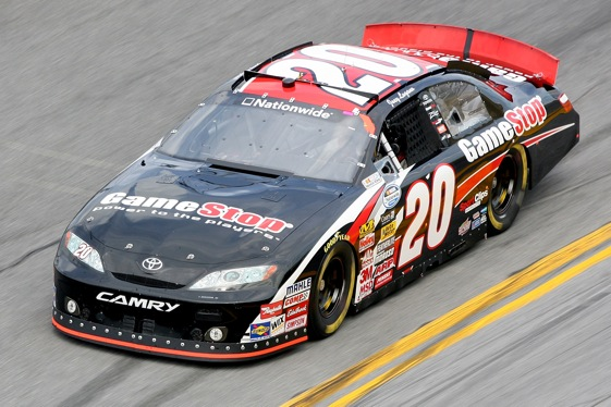 The highly successful No. 20 Joe Gibbs Racing Nationwide Series car will have a new driver at Memphis. (Photo by Matthew Stockman/Getty Images for NASCAR)