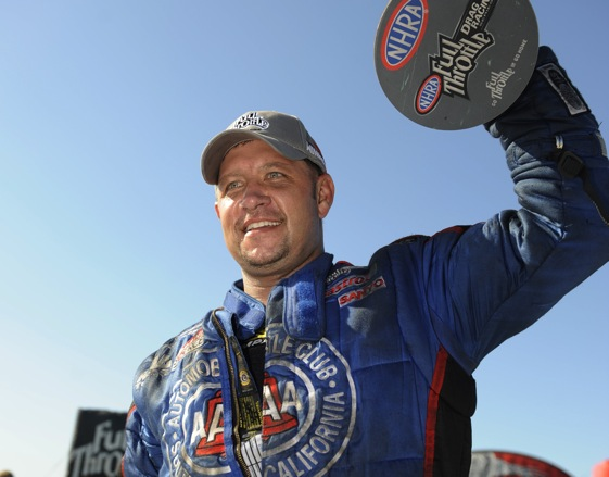 Robert Hight says new safety measures will do their jobs. (File photo courtesy of the NHRA)