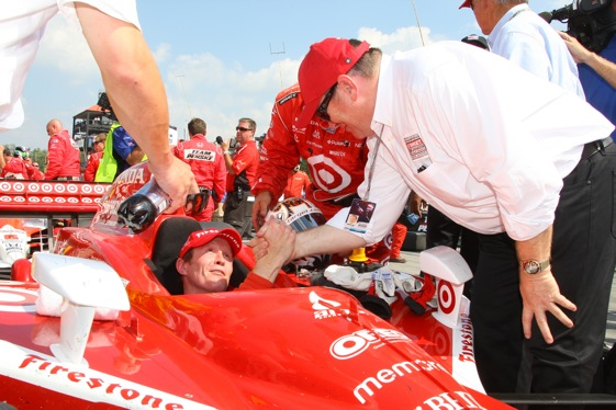 Scott Dixon and his Target Chip Ganassi Racing team are going for a third championship this weekend in South Florida. (Photo courtesy of the IndyCar Series)