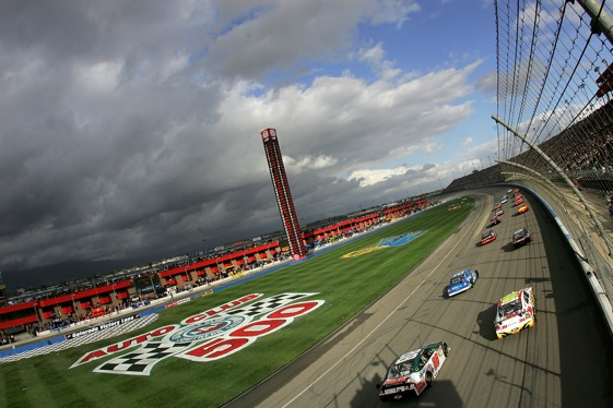 Auto Club Speedway in Fontana, Calif. has been moved into the Chase this season. (Photo by Jeff Gross/Getty Images)