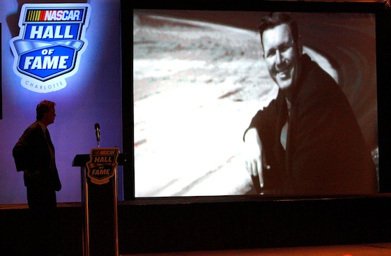 Bill France Sr. was one of the five people elected to the NASCAR Hall of Fame on Wednesday. 