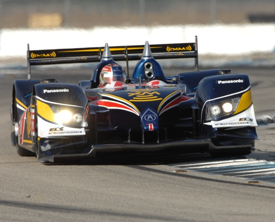 Gil de Ferran has slid out from behind the steering wheel and into the future. (Photo courtesy of the ALMS)