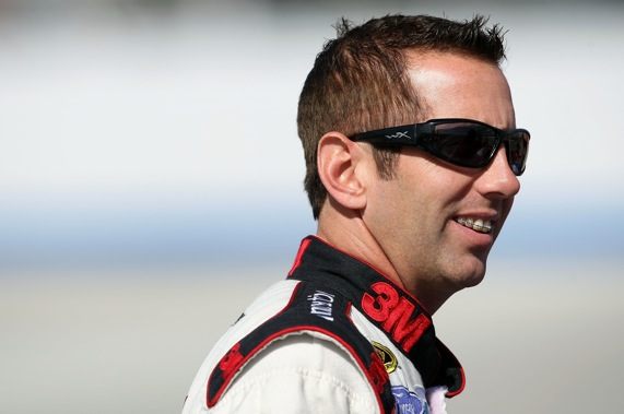 Greg Biffle and his team have a choice to make this weekend in California.  (Photo by Nick Laham/Getty Images)