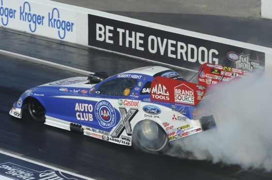 Robert High holds on to top spot in Memphis. (Photo courtesy of the NHRA)