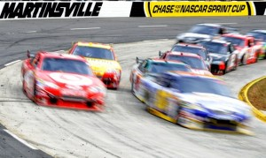 Martinsville is a short track but you still would not want to get hit by one of these babies. (Photo by John Harrelson/Getty Images)