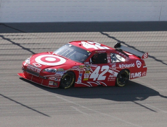 Juan Pablo Montoya could be cruising winless toward a championship. (RacinToday photo by Tony Bush)