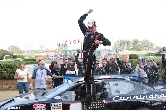 Parker Klingerman to jump into a Nationwide Series car this weekend at Kansas. (Photo courtesy of the ARCA Series)