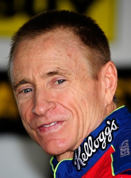 Mark Martin gets it done at 50 years old. (Photo by Sam Greenwood/Getty Images)