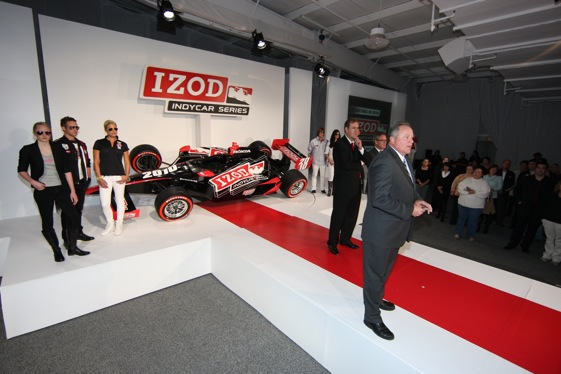 Brian Barnhart welcomed a title sponsor to the IndyCar series last Thursday. He then sat down with RacinToday's Mike Harris to answer questions. (Photo courtesy of the Indy Racing League)