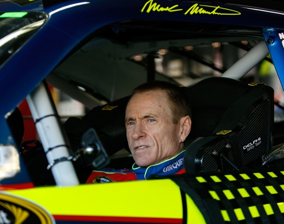 It looks like Mark Martin is going to come up short one more time. (Photo by Chris Graythen/Getty Images)
