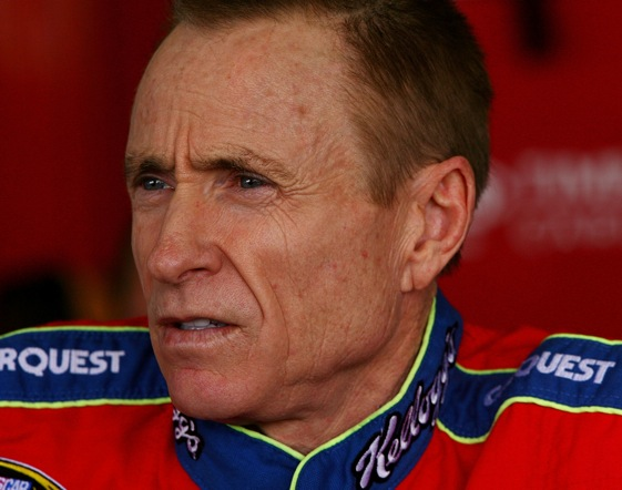 No pity, please, for Mark Martin. (Photo by Darrell Ingham/Getty Images)