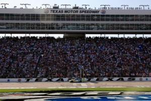 Texas Motor Speedway host today's Sprint Cup race. It's a fan and driver favorite. (Photo by Jason Smith/Getty Images for NASCAR)