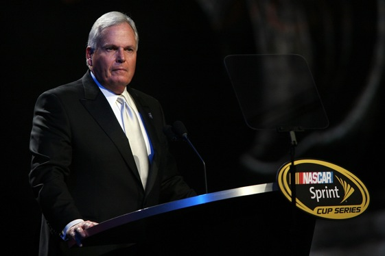 Rick Hendrick is already working on the 2010 season.  (Photo by Chris Trotman/Getty Images for NASCAR)