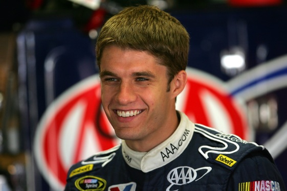 The heat might be on for David Ragan in the coming Sprint Cup season. (File photo by Chris Trotman/Getty Images for NASCAR)