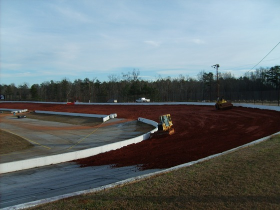 Senoia Speedway is getting dirtier. (Photo courtesy of Senoia Speedway)