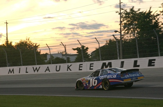 NASCAR racing at the Milwaukee Mile is headed into the sunset. (Photo by Jonathan Daniel/Getty Images for NASCAR)