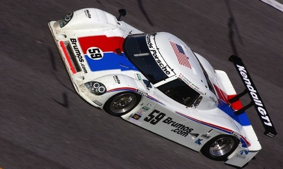 Hurley Haywood will take one last Daytona ride in a Brumos Porsche this weekend. (Photo courtesy of the Grand-Am Series)