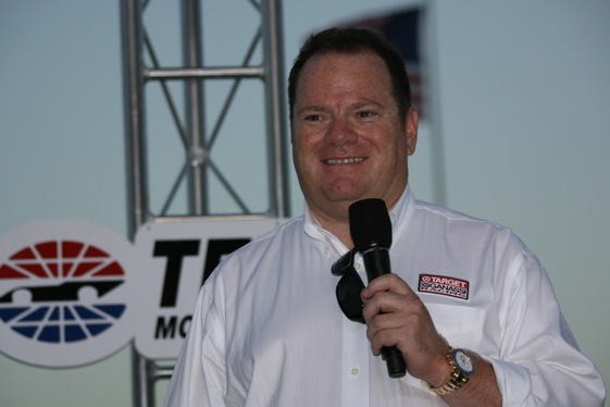 Chip Ganassi (Photo courtesy of the Indy Racing League)