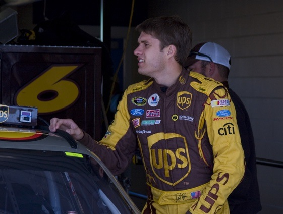 David Ragan is heading out into the cold. (RacinToday file photo by Tony Bush)