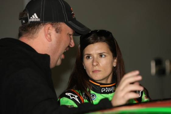 Danica Patrick finished ?? in her stock car debut. (File photo courtesy of NASCAR)