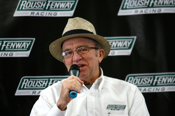 Jack Roush took on the media during the NASCAR Media Tour this week. (Photo by Jason Smith/Getty Images)