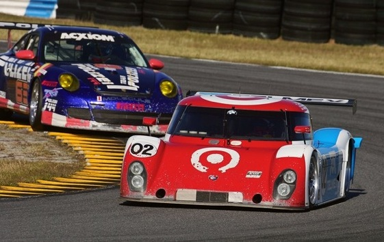 Jamie McMurray takes laps at Daytona in Chip Ganassi's Grand-Am car. (Photo courtesy of the Grand-Am Series)
