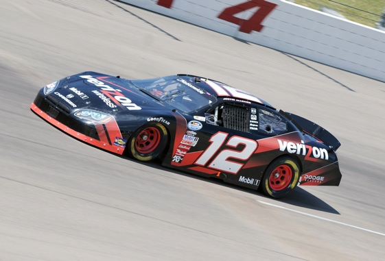Justin Allgaier showed steady growth last year in the Nationwide Series. Can he win a championship for Penske? (File photo courtesy of NASCAR)