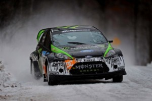 Ken Block notched a big rally victory on Saturday. (File photo courtesy of Ford)