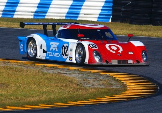 Scott Dixon and his Target Chip Ganassi team were looking strong in the early going at the Daytona 24. (Photo courtesy of the Grand-Am Series)