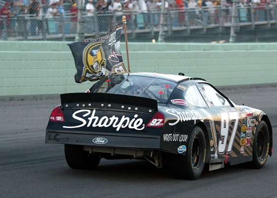 Remember these? Cars with spoilers and not wings? They will be back. (File photo courtesy of NASCAR)
