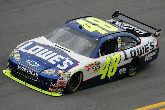 jimmie johnson 5 car. 05: Jimmie Johnson drives