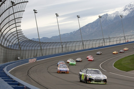 Auto Club Speedway can be a tough mountain to climb. (Photo by Jeff Gross/Getty Images)