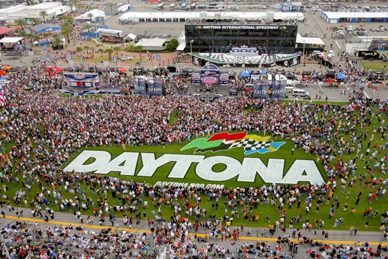 Larry Woody says February days in Daytona are the stuff of dreams. (Photo by Matthew Stockman/Getty Images)