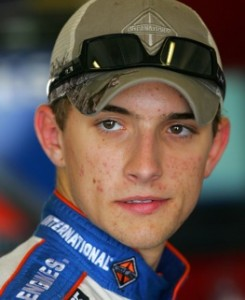 James Buescher was fastest in ARCA practice Thursday.  (Photo by Chris Trotman/Getty Images for Texas Motor Speedway)
