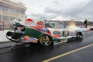 John Force can make it two straight victories on Monday at Firebird. (Photo courtesy of the NHRA)