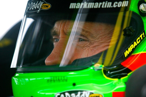 Mark Martin won the pole for next weekend's Daytona 500 on Saturday. (Photo by Jason Smith/Getty Images for NASCAR)
