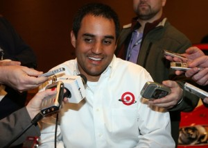 Juan Pablo Montoya talked Danica and Daytona during Media Day Thursday. (Photo courtesy of NASCAR)