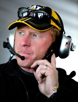 Tommy Baldwin Jr. will be back at Daytona this week as a team owner. (Photo by Rusty Jarrett/Getty Images for NASCAR)