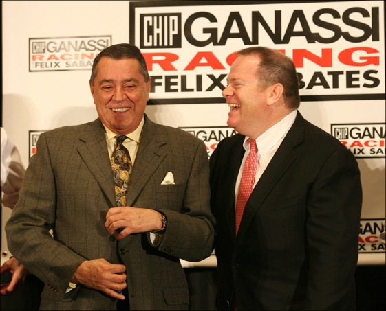 Team co-owners Felix Sabates and Chip Ganassi finally made it to Victory Lane at the Daytona 500. (HHP/ Harold Hinson)
