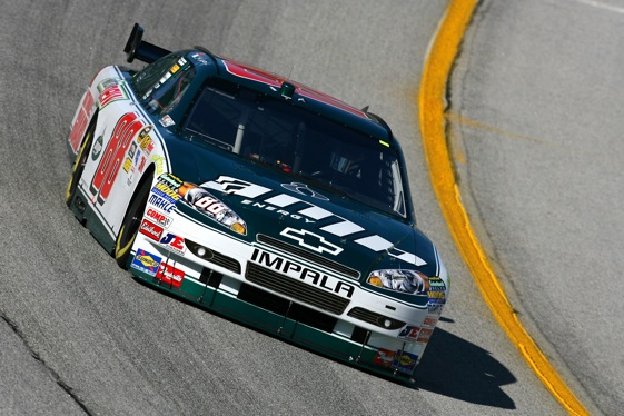 Dale Earnhardt Jr. led the field in qualifying at Atlanta Motor Speedway. (Photo courtesy of NASCAR)